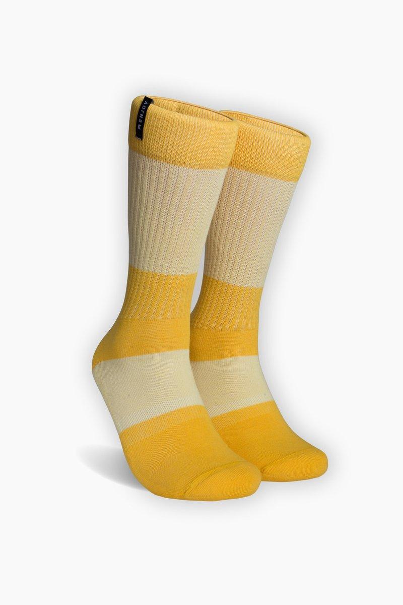 Meia Enjoy - Plano (Amarelo)  - No Comply Skate Shop