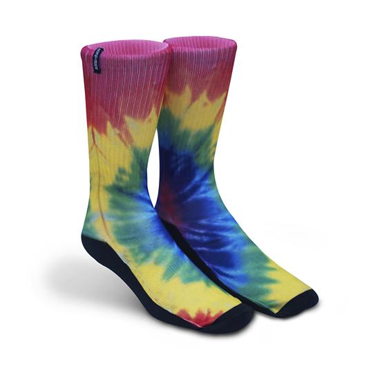 Meia Norden - Tie Dye  - No Comply Skate Shop
