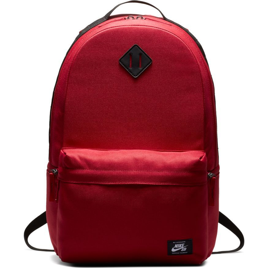 Mochila Nike SB - Icon Backpack Red Crush/Black/White  - No Comply Skate Shop