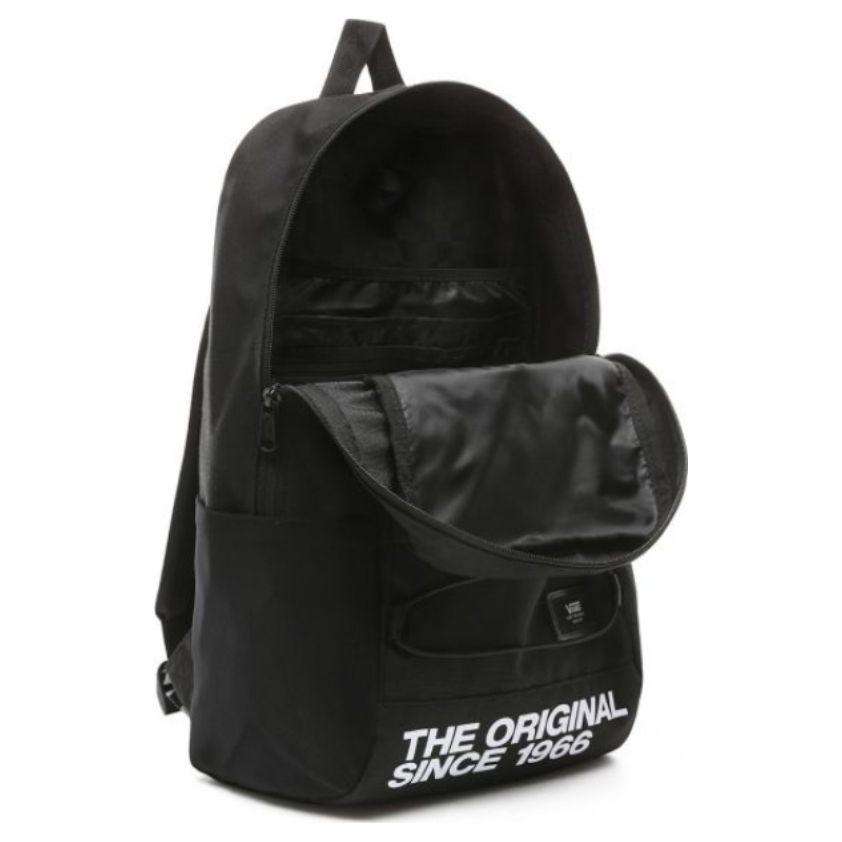 Mochila Vans - MN Snag Backpack Black/White  - No Comply Skate Shop