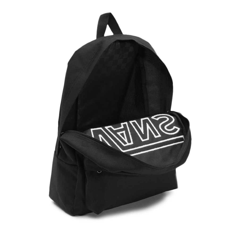 Mochila Vans - Old Skool II Backpack Black/White - No Comply Skate Shop