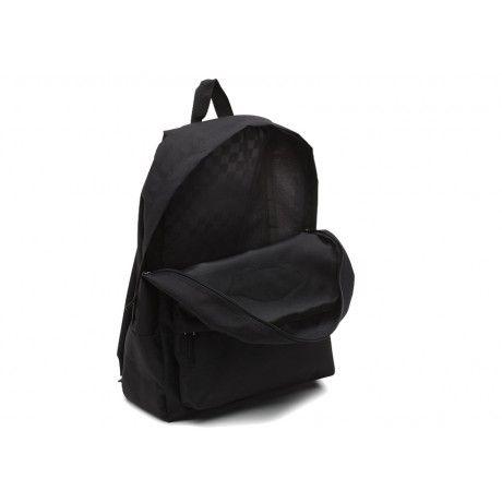 Mochila Vans - WM Realm Backpack Black  - No Comply Skate Shop