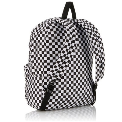 Mochila Vans - MN Old Skool II Backpack Black/White-Che  - No Comply Skate Shop