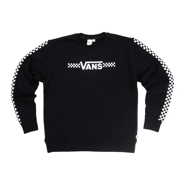 Moletom Vans - WM Fun Times Crew Black - No Comply Skate Shop