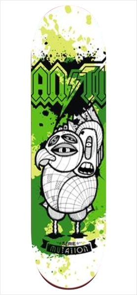 "Shape Anti Action - Mutation Green 7.75""  - No Comply Skate Shop"
