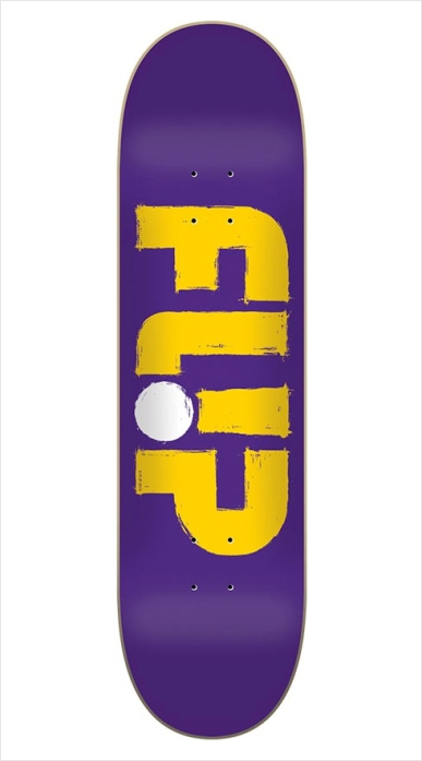 "Shape Flip Odyssey Stroked Purple 8.0""  - No Comply Skate Shop"
