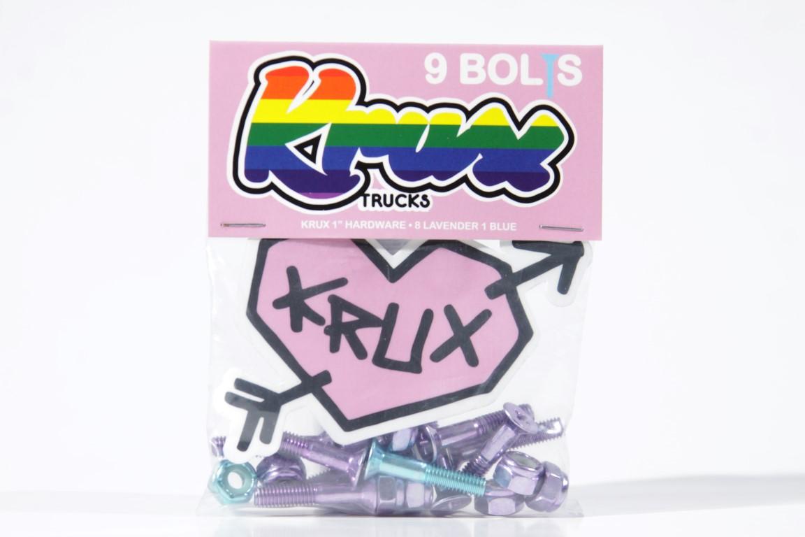 """Parafuso de Base Krux - Krome Phillips 1"""" Lavender  - No Comply Skate Shop"""