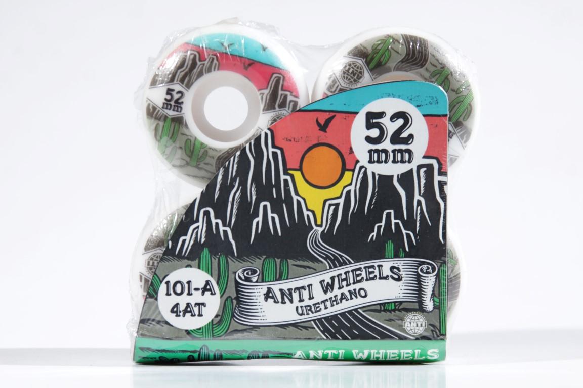 Roda Anti Action - Desert 4AT 52mm  - No Comply Skate Shop