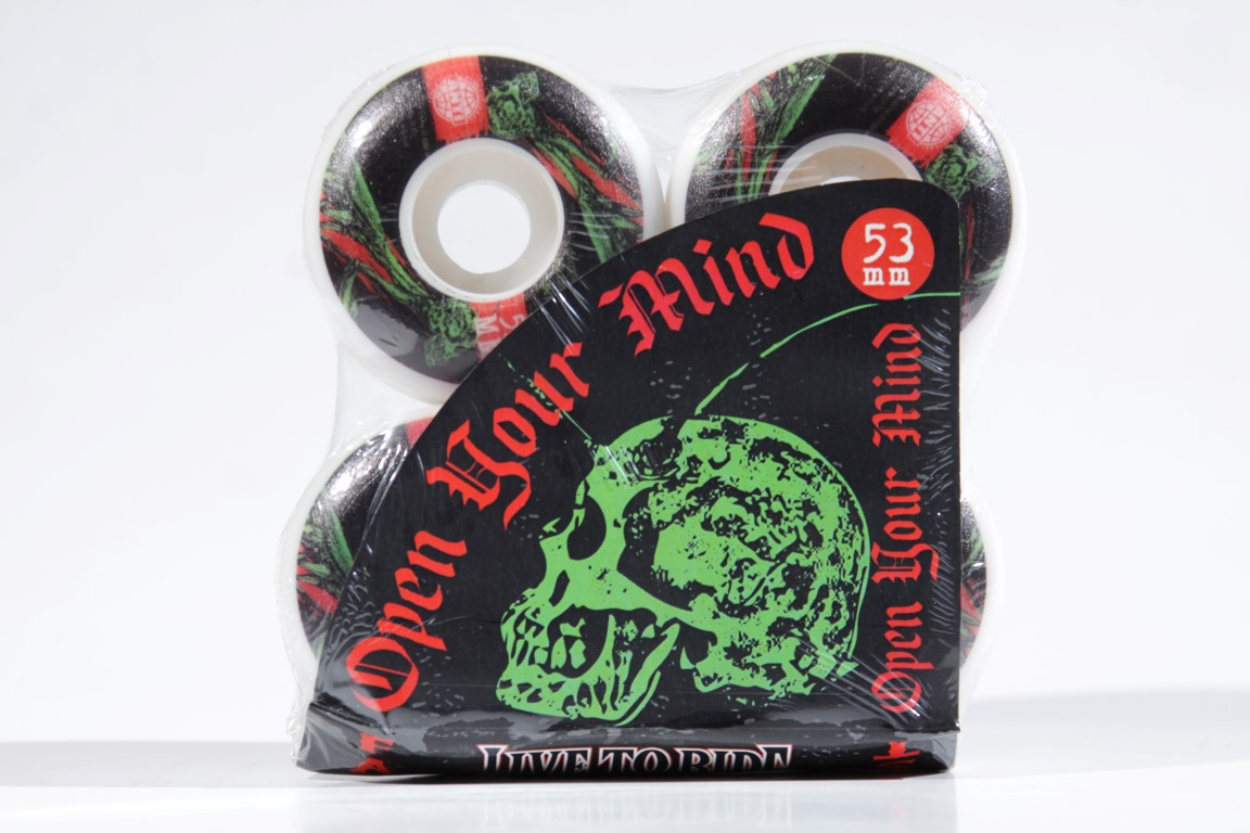 Roda Anti Action - Open Your Mind 4AT 53mm  - No Comply Skate Shop