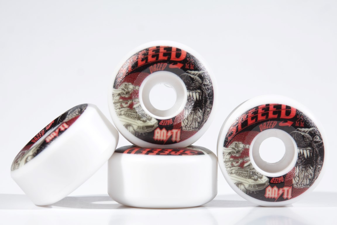 Roda Anti Action - Speed Dazed 4AT 55mm  - No Comply Skate Shop