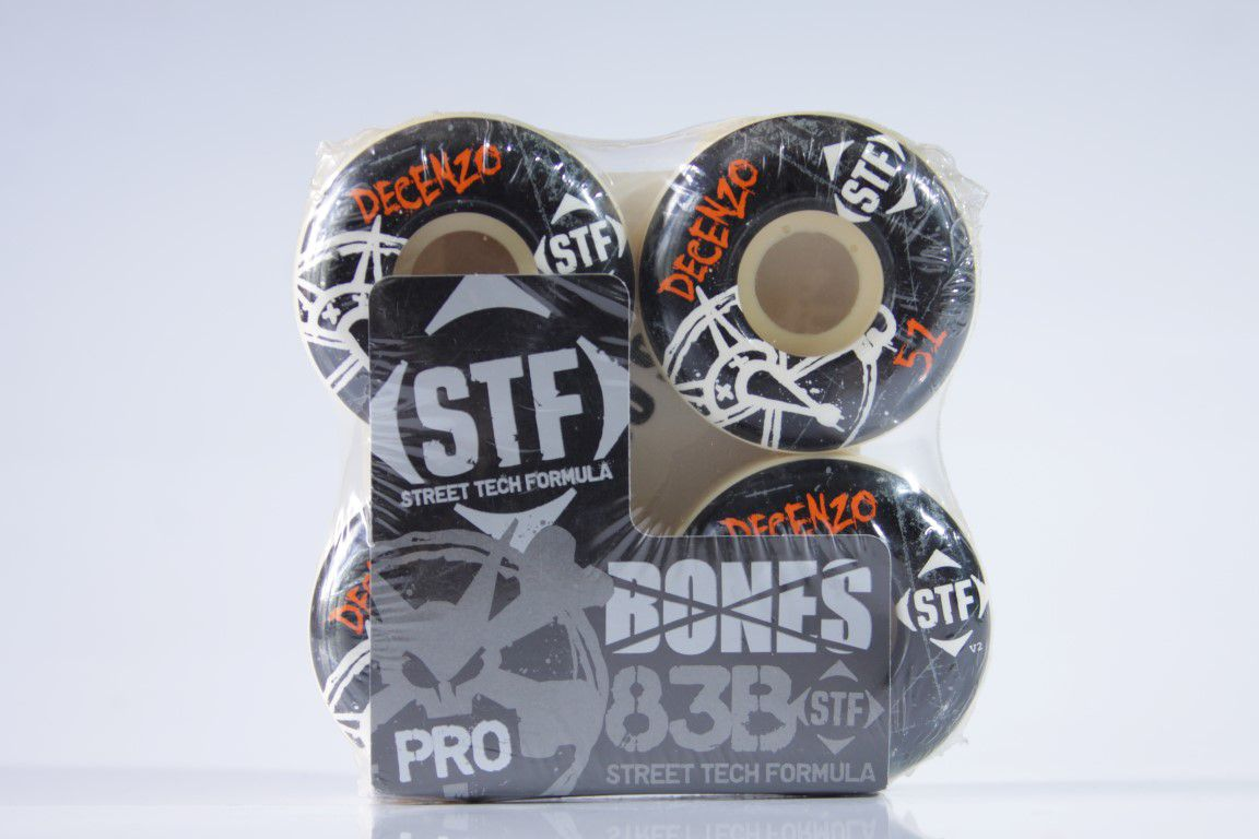 Roda Bones - STF Streettech V2 Decenzo 51mm  - No Comply Skate Shop