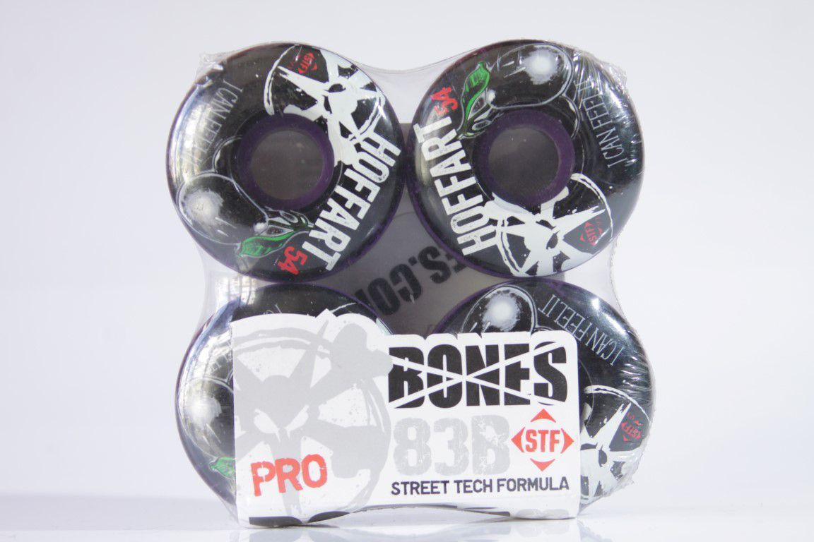 Roda Bones - STF Streettech V3 Hoffart Blue Hue 54mm  - No Comply Skate Shop