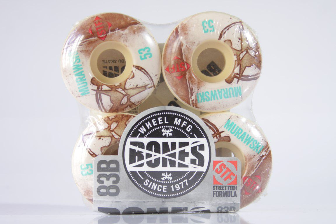 Roda Bones - STF V1 Murawski Vintage 53mm  - No Comply Skate Shop