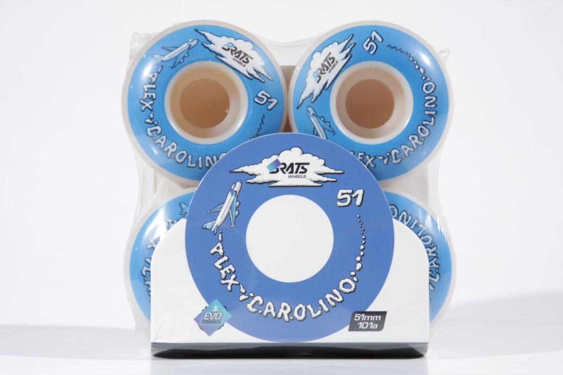 Roda Brats - Alex Carolino 51mm Evo Formula Clouds  - No Comply Skate Shop