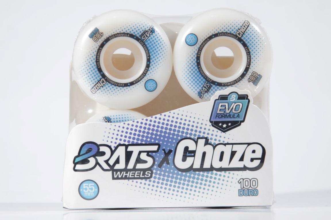 Roda Brats - Colab com Chaze 55mm  - No Comply Skate Shop