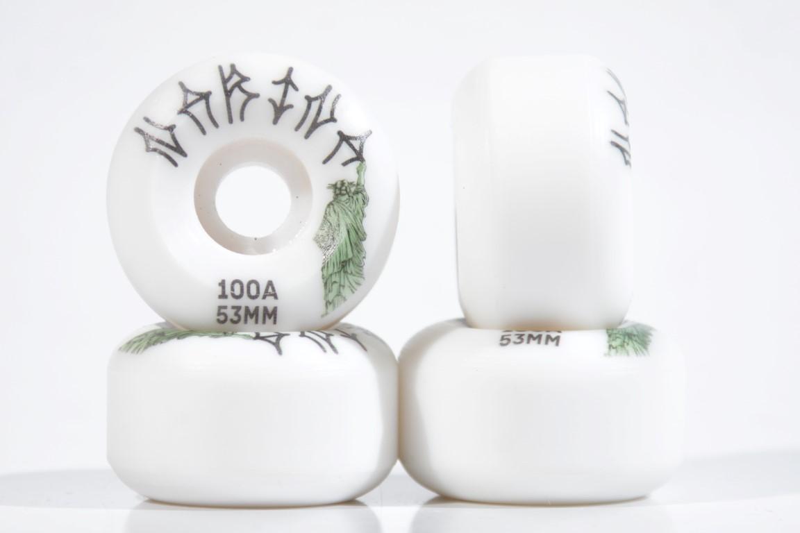 Roda Narina - Liberdade White 53mm  - No Comply Skate Shop