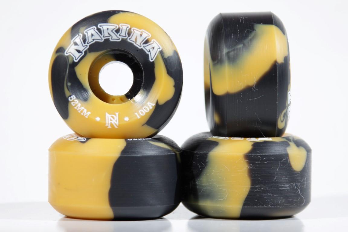 Roda Narina - Rajada Amarela 52mm  - No Comply Skate Shop