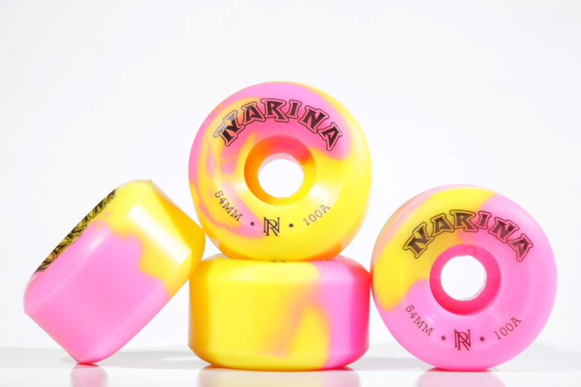Roda Narina - Rajada Rosa 54mm  - No Comply Skate Shop