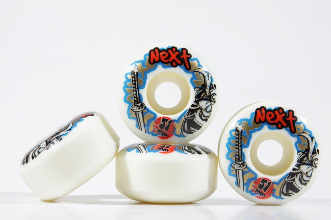 Roda Next - Sem Miolo White 51mm  - No Comply Skate Shop