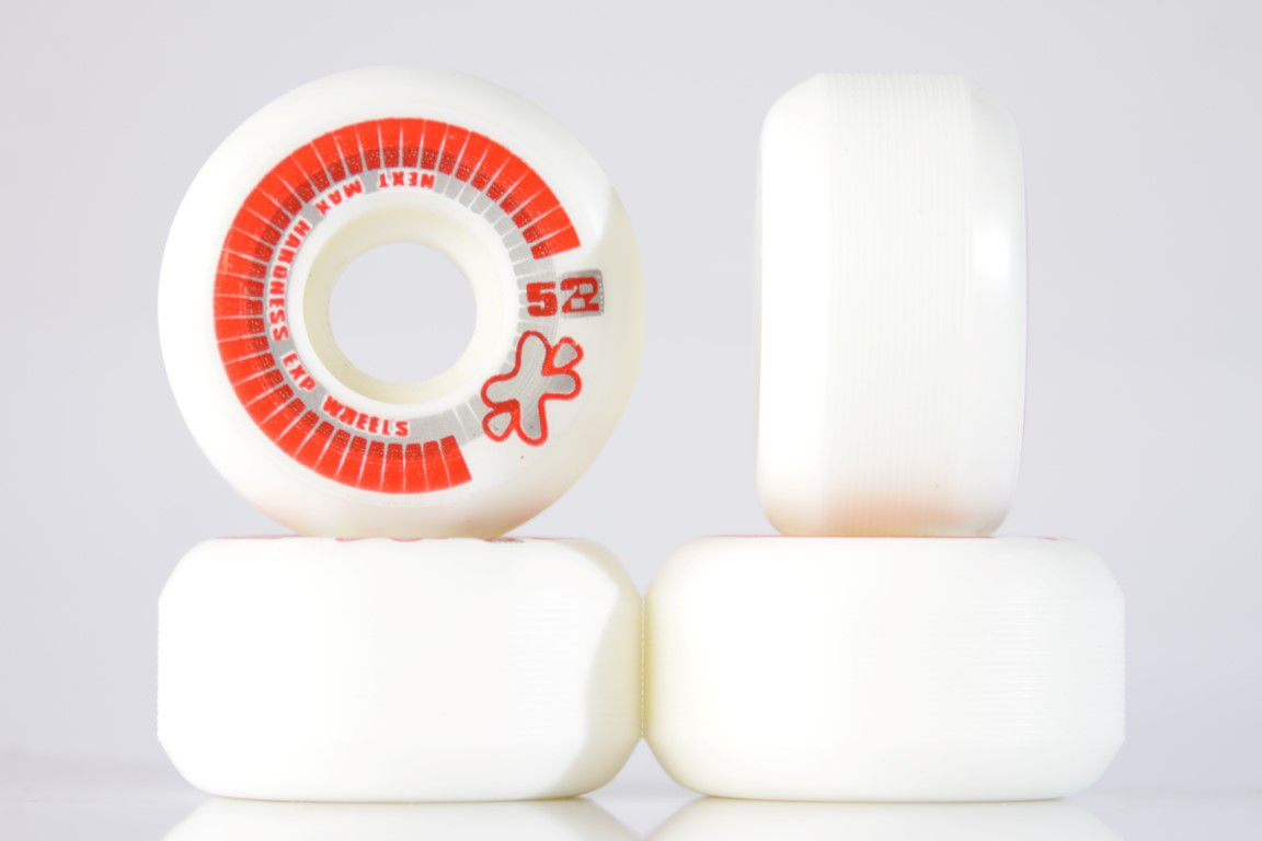 Roda Next - Sem Miolo White 52mm - No Comply Skate Shop