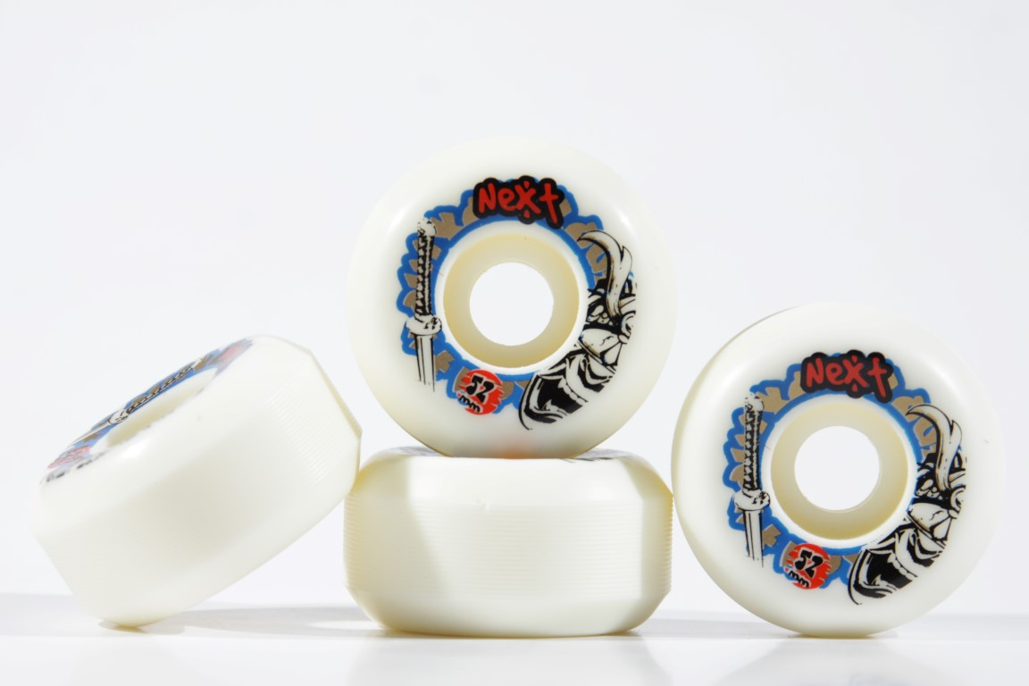 Roda Next - Sem Miolo White 52mm  - No Comply Skate Shop