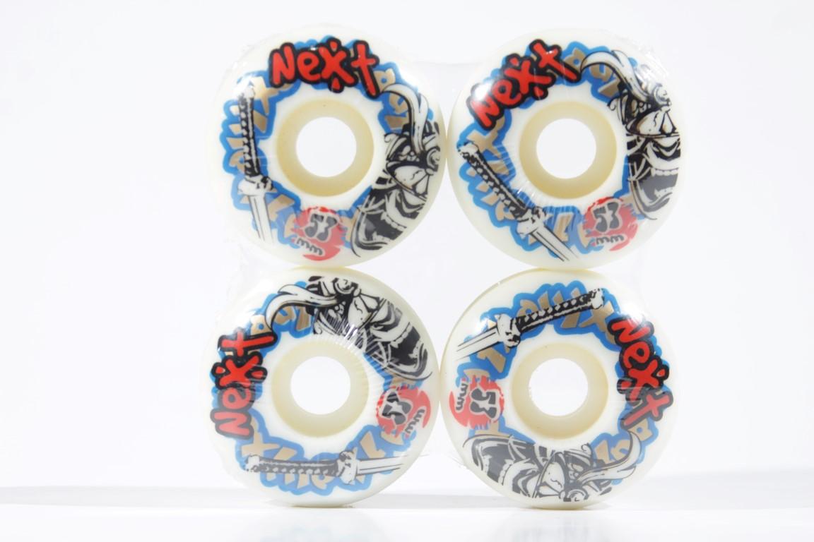 Roda Next - Sem Miolo White 53mm  - No Comply Skate Shop