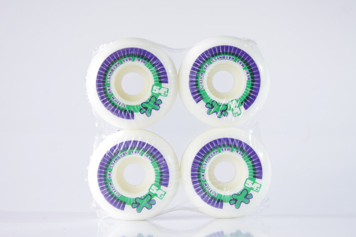 Roda Next - Sem Miolo White 54mm  - No Comply Skate Shop