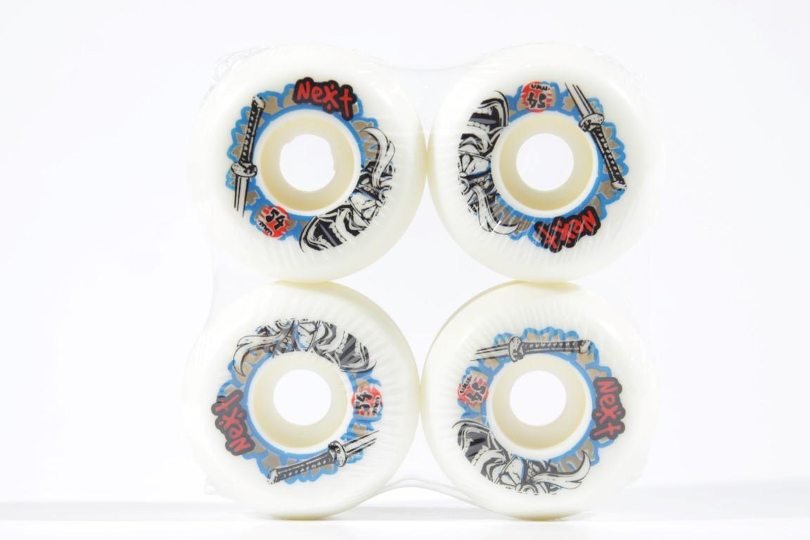Roda Next - Sem Miolo White 54mm  - No Comply Skate Shop