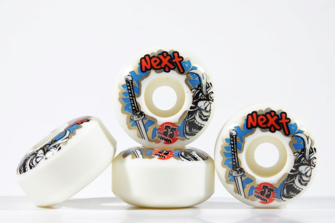 Roda Next - Sem Miolo White 55mm  - No Comply Skate Shop