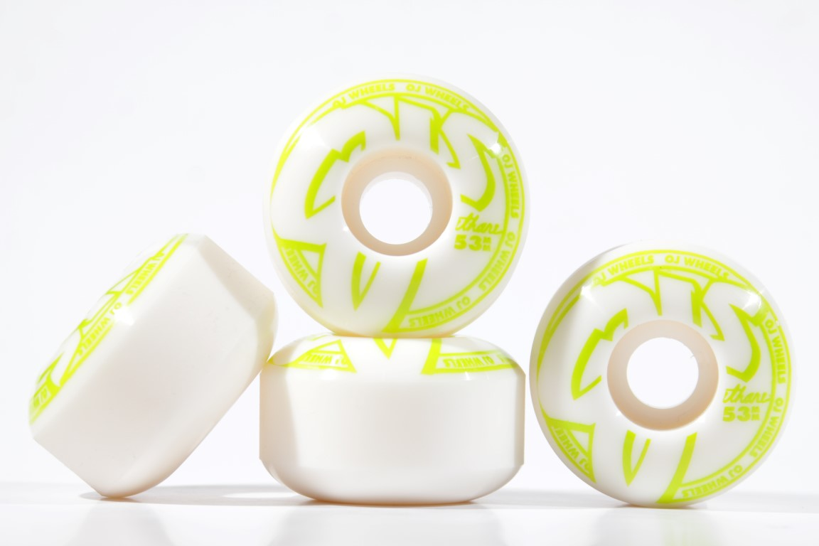 Roda OJ - Concentrates EZ Edge Green 53mm  - No Comply Skate Shop