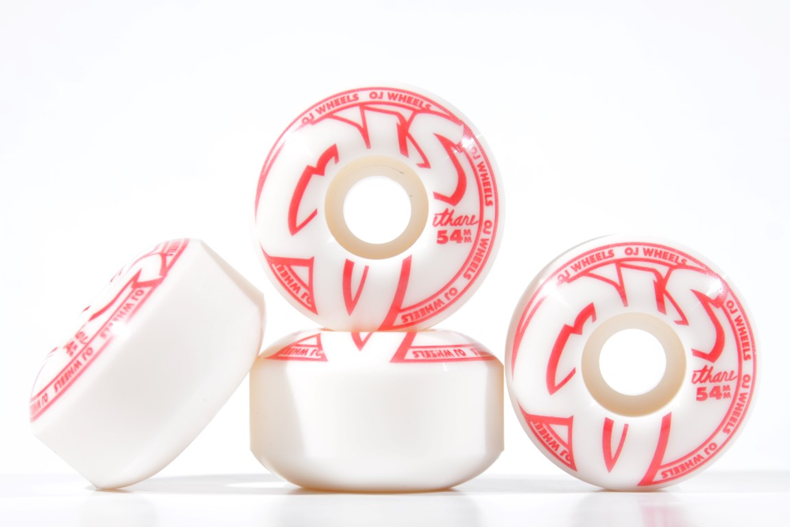 Roda OJ - Concentrates EZ Edge Red 54mm  - No Comply Skate Shop