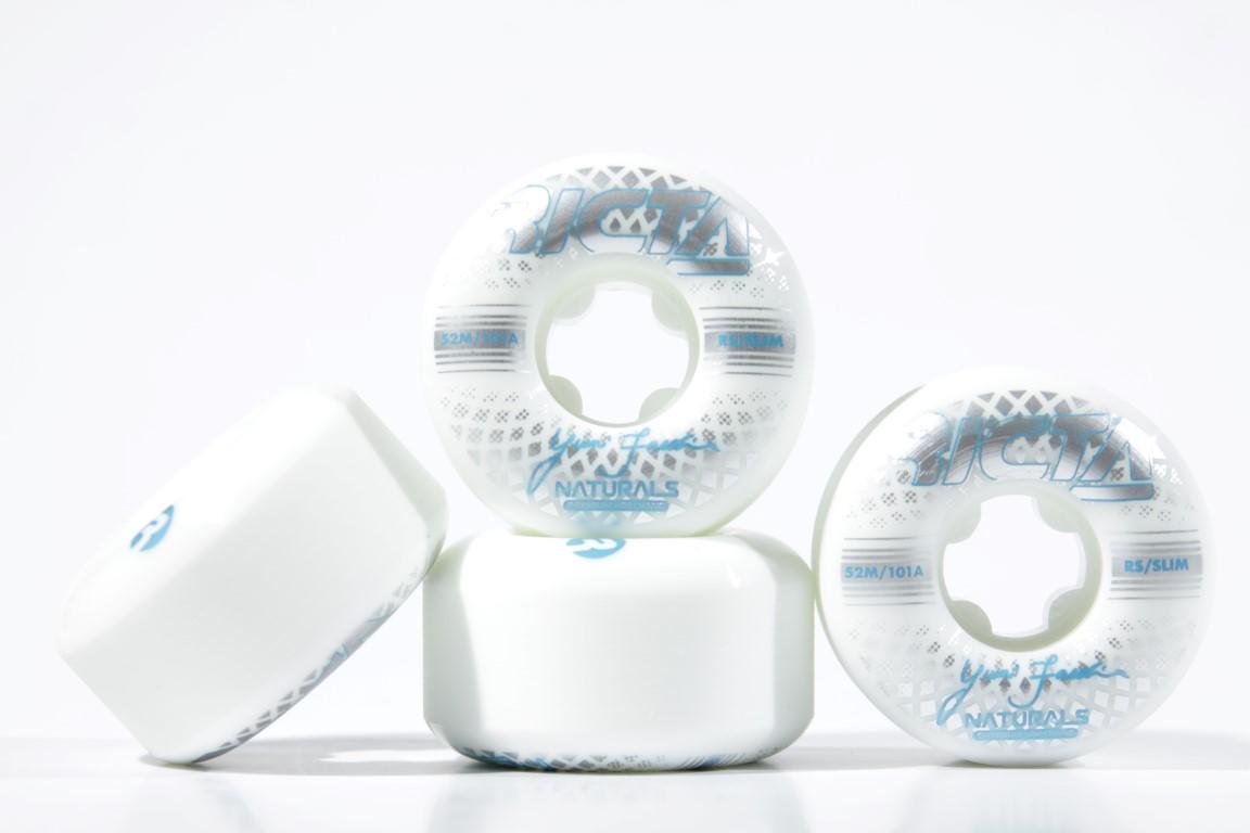 Roda Ricta - Facchini Reflective Naturals Slim 52mm  - No Comply Skate Shop
