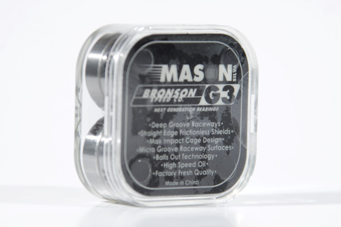 Rolamento Bronson - G3 Mason Silva  - No Comply Skate Shop