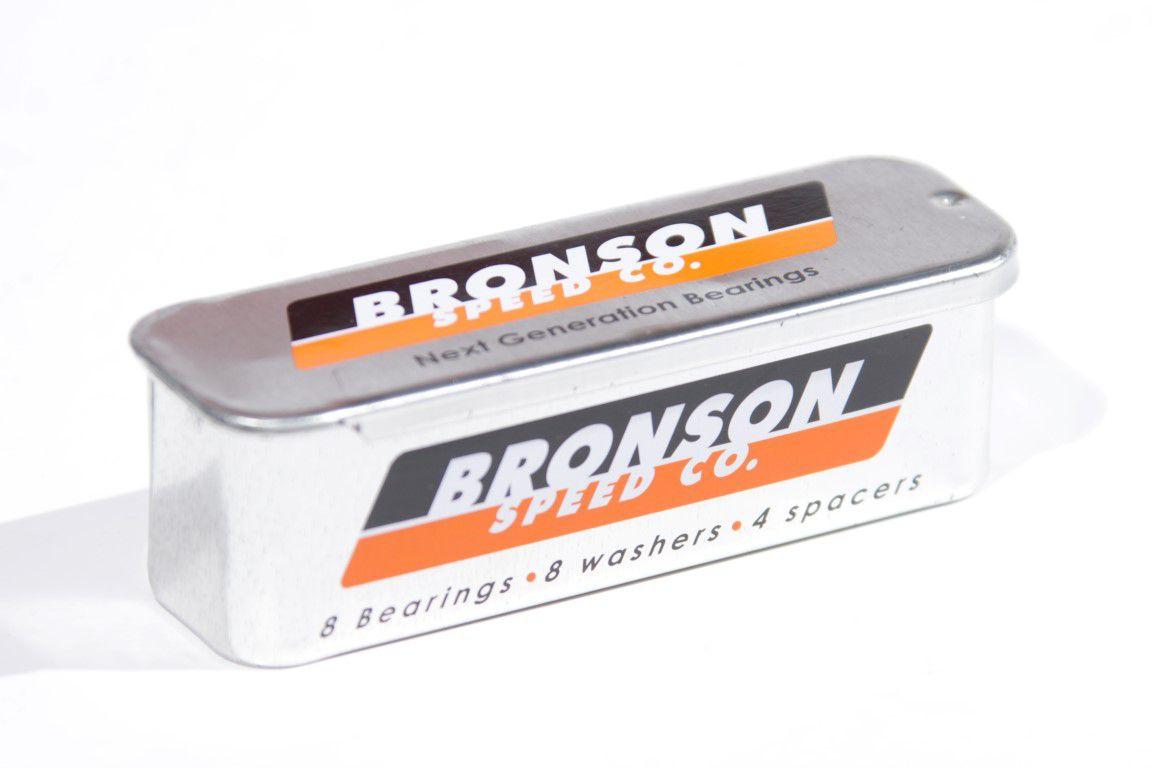 Rolamento Bronson Speed  - No Comply Skate Shop