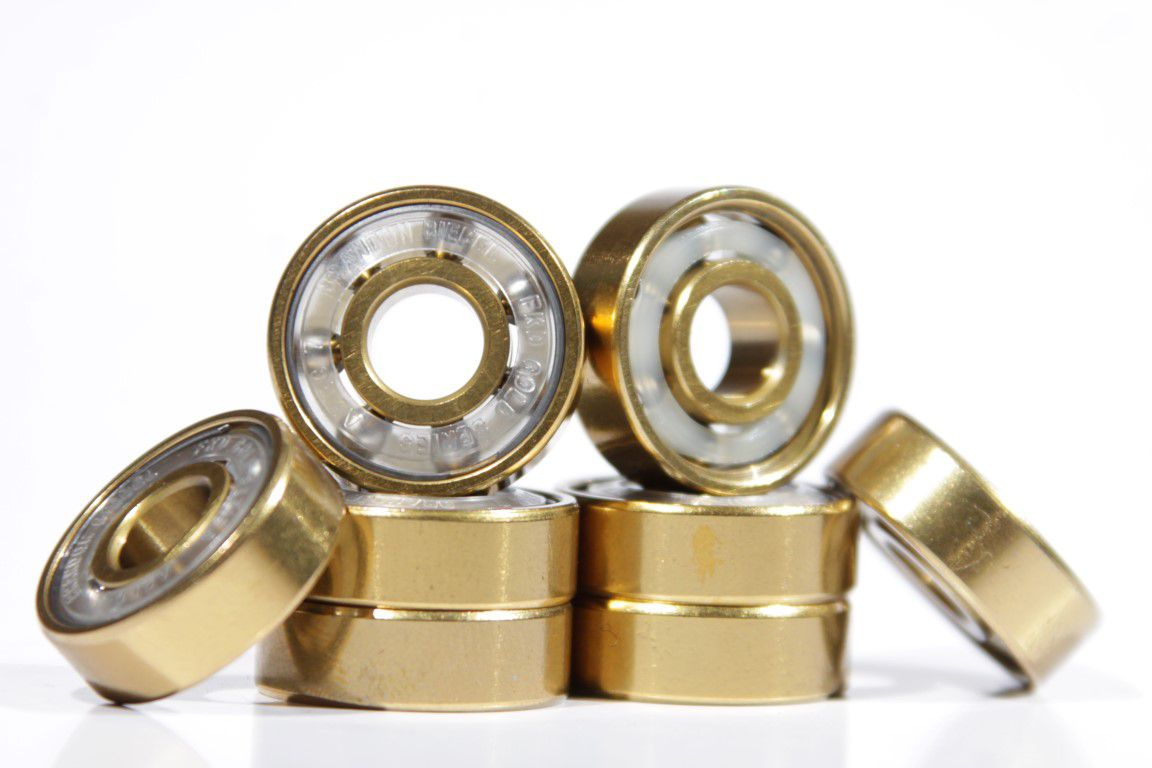 Rolamento FKD Bearings - Brandon Biebel Clear Abec 7  - No Comply Skate Shop