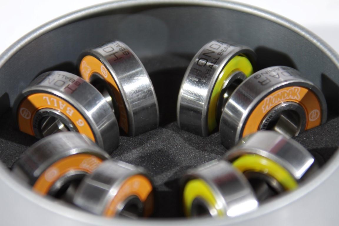 Rolamento Hondar - 6 Ball Aço  - No Comply Skate Shop