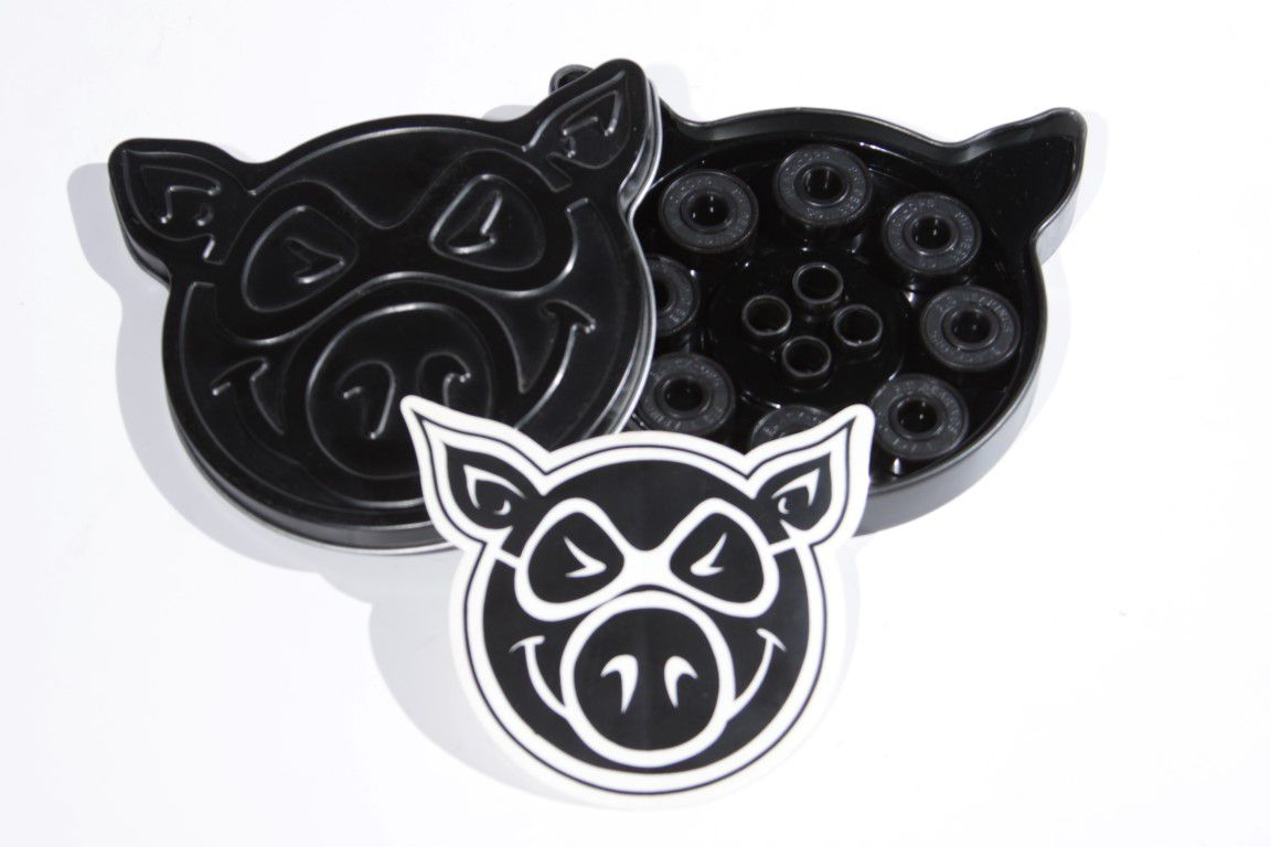 Rolamento Pig Black Ops  - No Comply Skate Shop