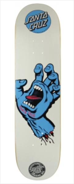 """Shape Santa Cruz - Power Lite Hand White 2 8.2""""  - No Comply Skate Shop"""