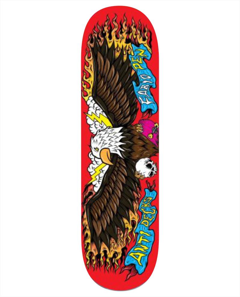 "Shape Anti Action - Fábio Pen 8.25""  - No Comply Skate Shop"
