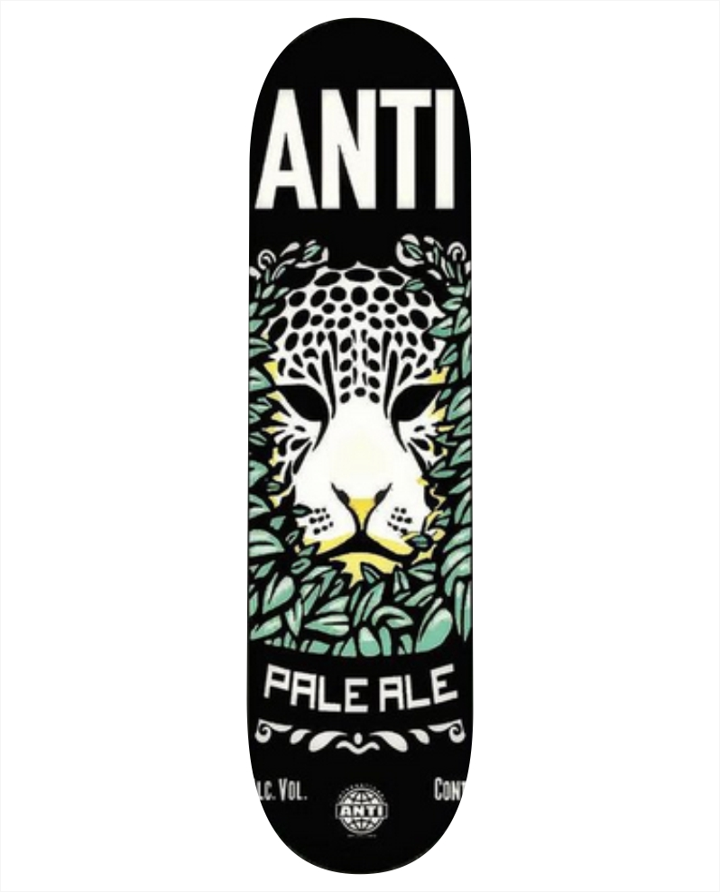 """Shape Anti Action - Pale Ale 8.0""""  - No Comply Skate Shop"""