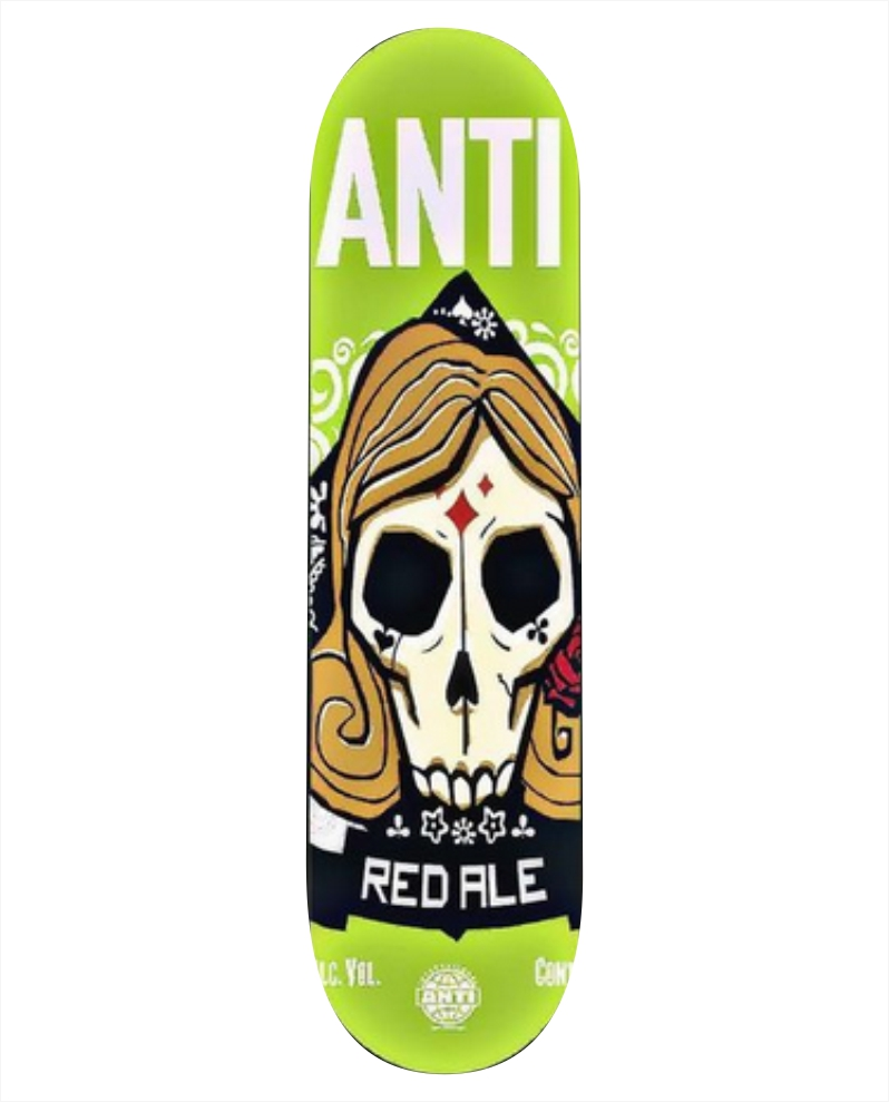"""Shape Anti Action - Red Ale 8.125""""  - No Comply Skate Shop"""