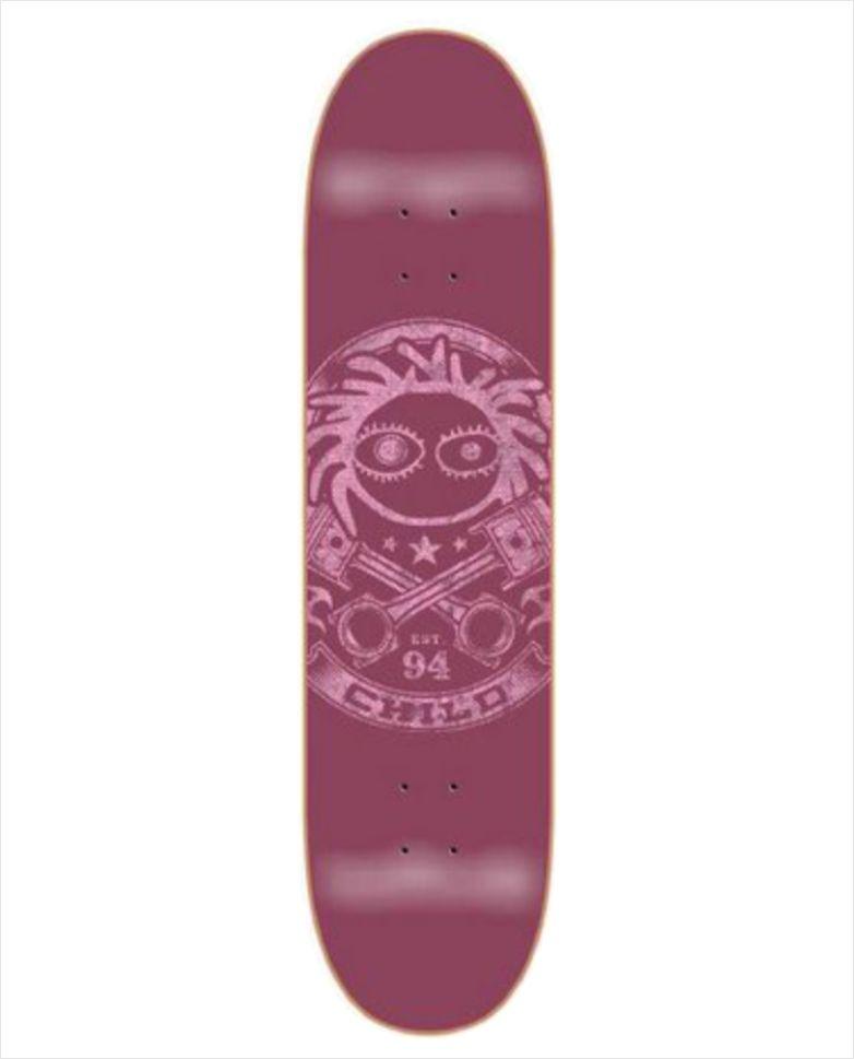 "Shape Child - Heat Transfer Custom Wine 8.2""  - No Comply Skate Shop"