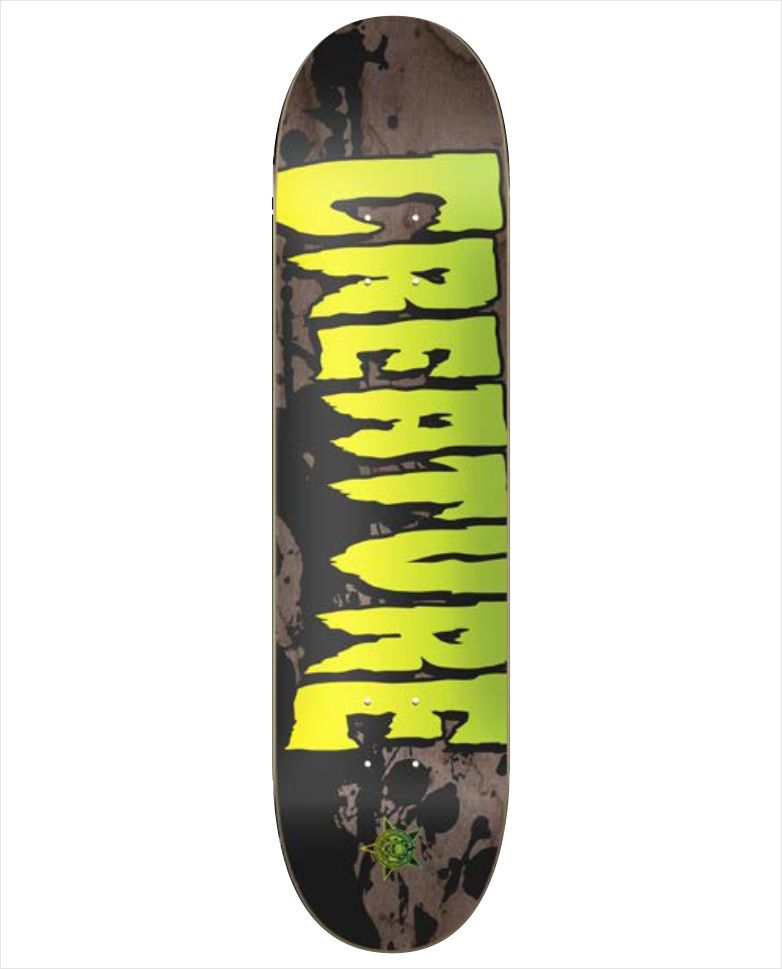 "Shape Creature - Maple Stained Black 8""  - No Comply Skate Shop"