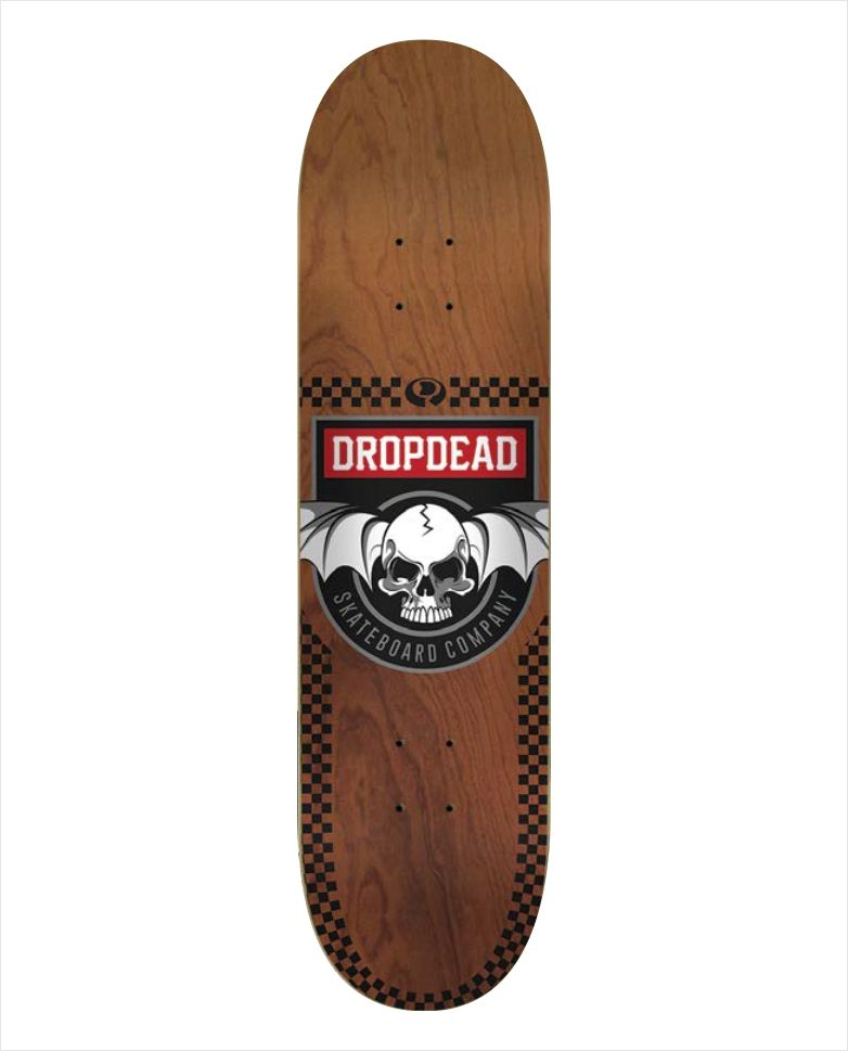 "Shape Dropdead - Heat Transfer Deadly Wood 8""  - No Comply Skate Shop"