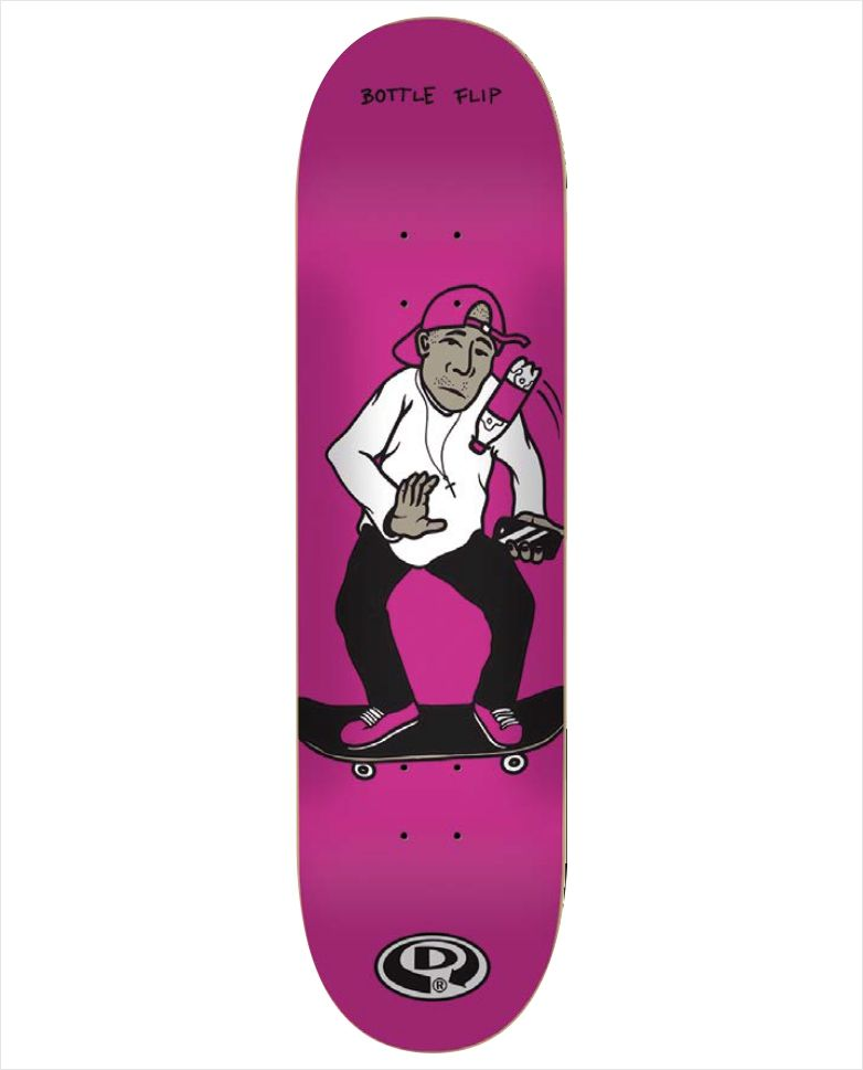 "Shape Dropdead - Heat Transfer (Infanto) Hipe Serie Pink 7.75""  - No Comply Skate Shop"