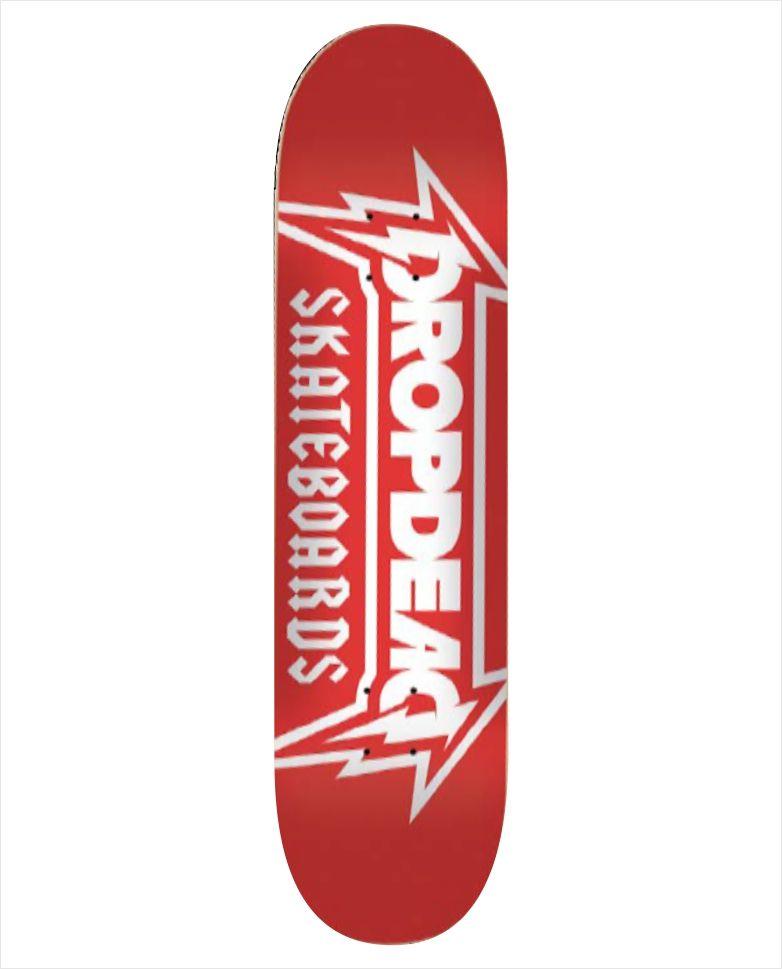 "Shape Dropdead - Heat Transfer Metallica 7.75""  - No Comply Skate Shop"