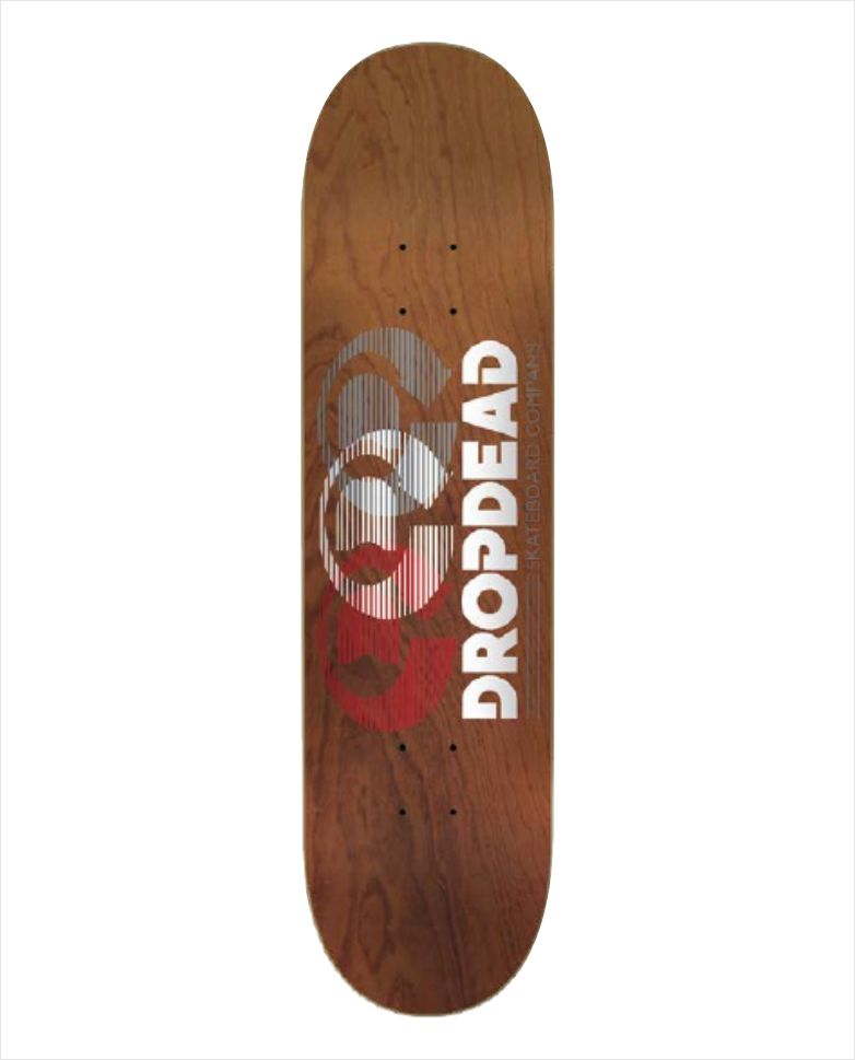 "Shape Dropdead - Heat Transfer Optics Wood 7.75""  - No Comply Skate Shop"
