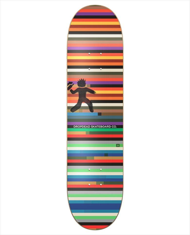 "Shape Dropdead - Heat Transfer Riot 8""  - No Comply Skate Shop"