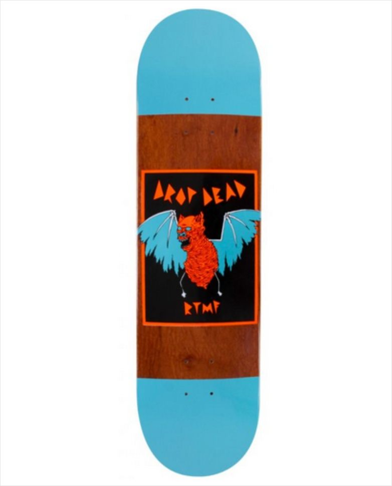 "Shape Dropdead - Heat Transfer RTMF 8.0""  - No Comply Skate Shop"