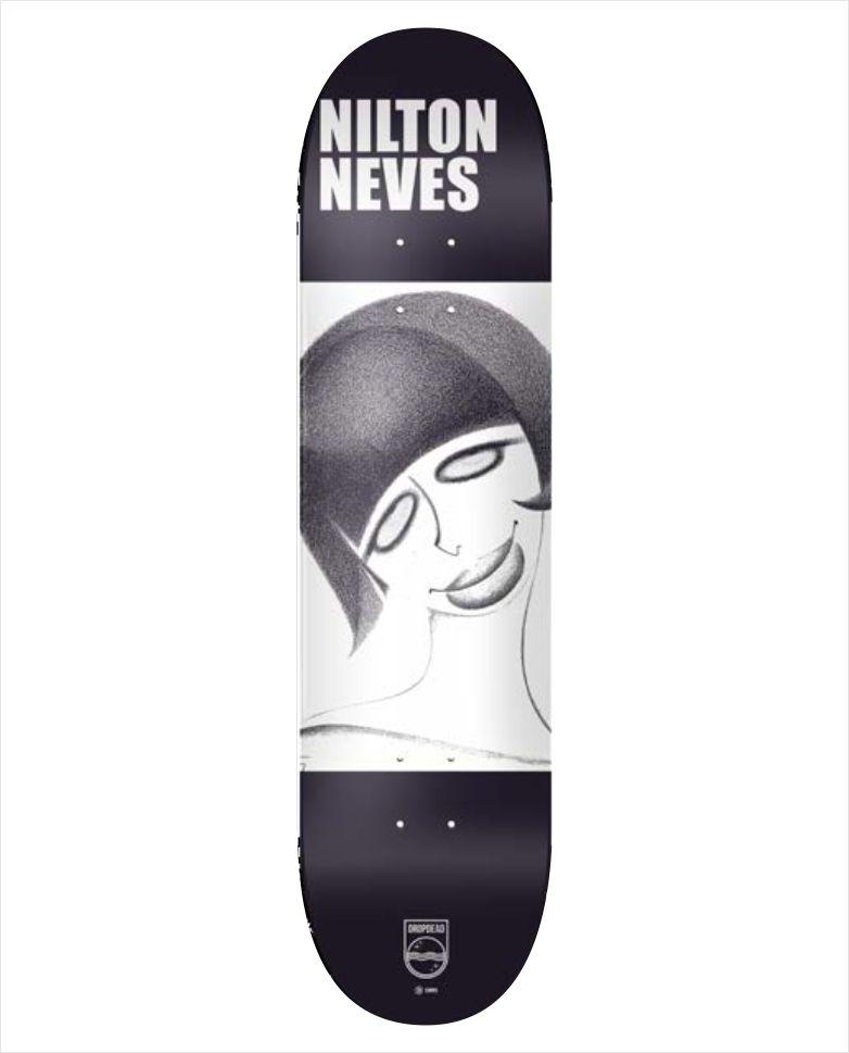 "Shape Dropdead - NK2 Heat Transfer Nilton Neves 7.9""  - No Comply Skate Shop"
